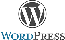 WordPress CMS логотип