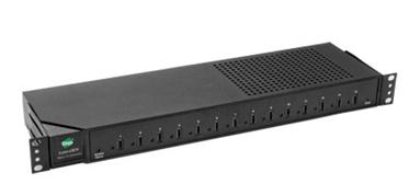 AnywhereUSB /14: большой стоечный вариант USB IP от Digi, рассчитанный на 14 портов USB, с возможность монтажа в 19 дюймовый шкаф.
