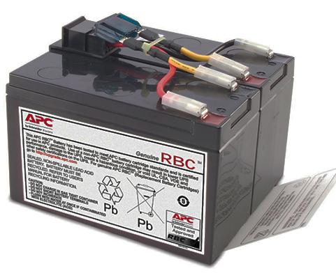 Оригинальный комплект батарей RBC48 для ИБП APC Smart UPS